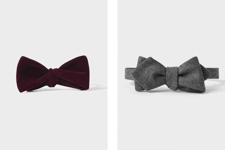 Winter bow ties