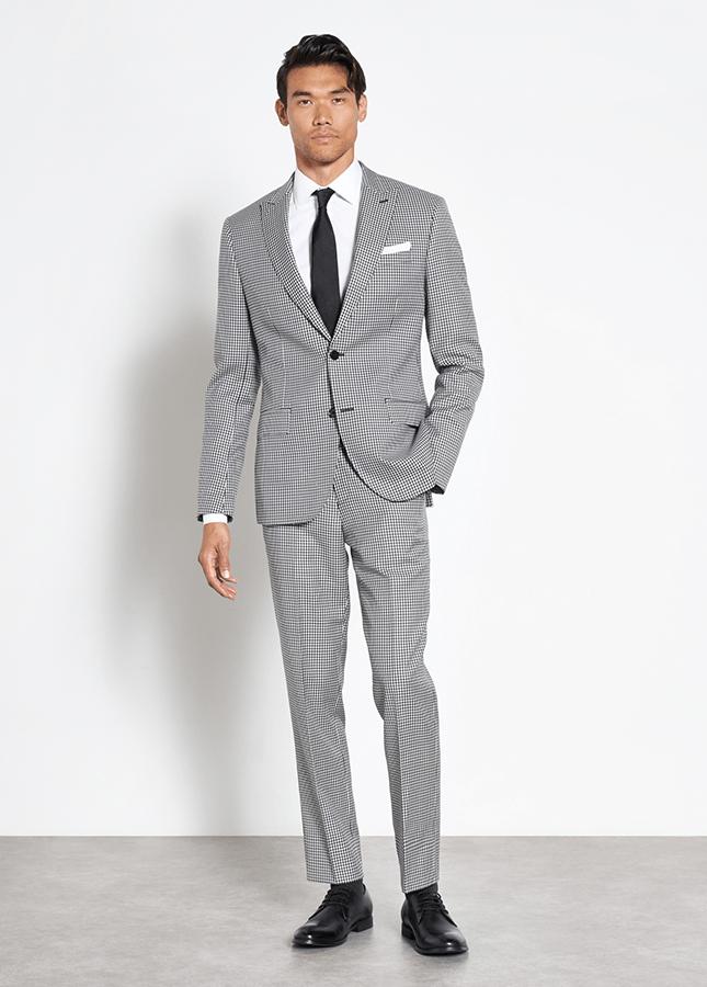 modern prom suit