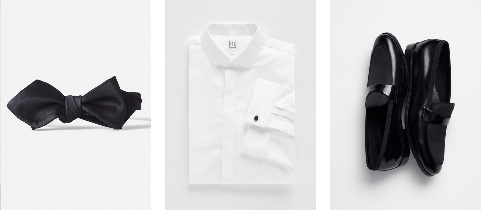black tie dress code accessories
