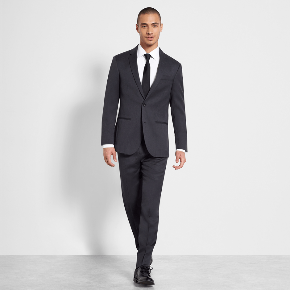 charcoal groom outfits