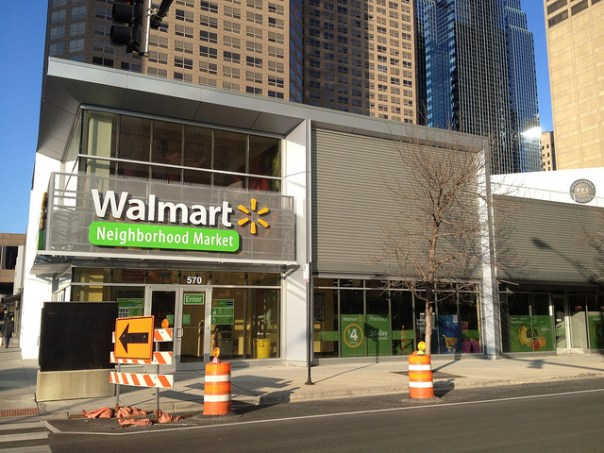 Walmart store in Chicago's West Loop by Flickr user Ifmuth
