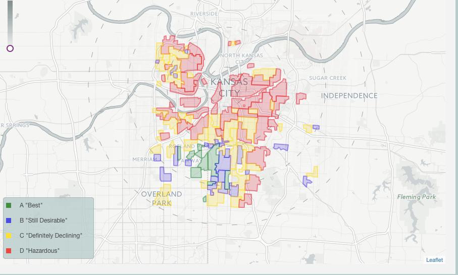 Kansas City's 1930-1940s Real Estate Maps
