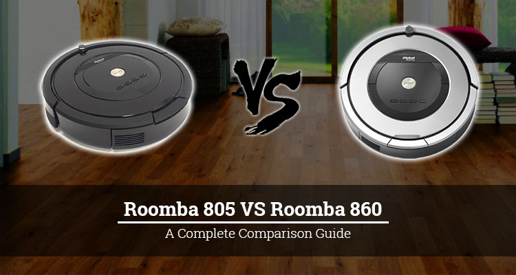 Roomba 805 vs 860 FI
