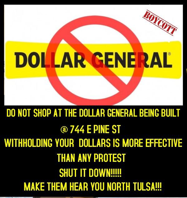 BOYCOTT DOLLAR GENERAL