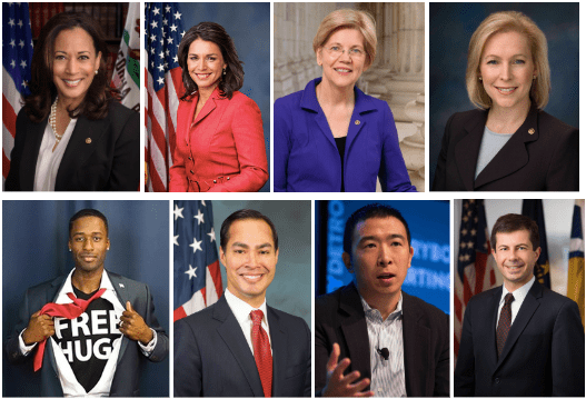 They're Black, Latinx, Asian, Hindu, Female, Gay, First Generation and they all have something in common: They're running for president
