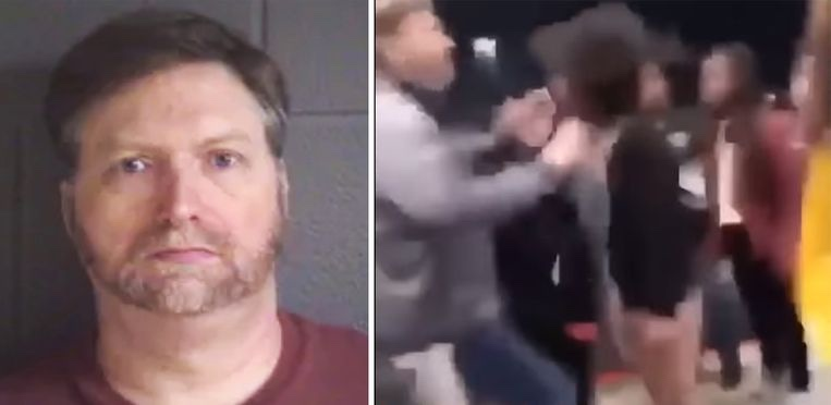 White Man delivers powerful blow to Black 11-year old girl's face