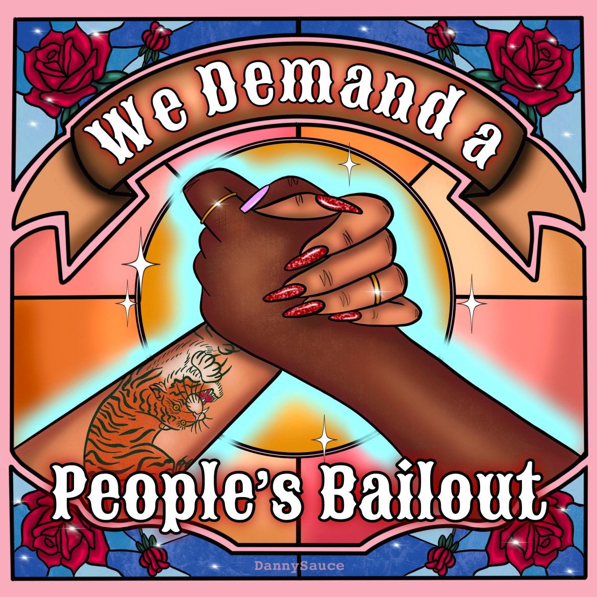 People's bailout international women's day