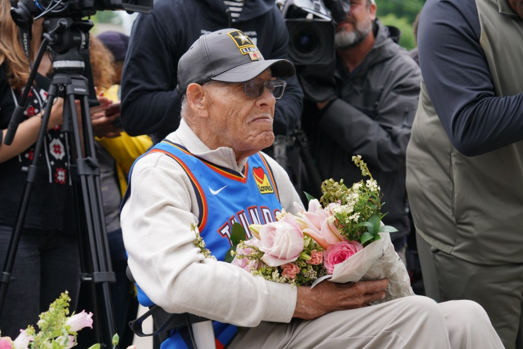 "Honor Tulsa Race Massacre Van Hughes Ellis ""Uncle Red"""