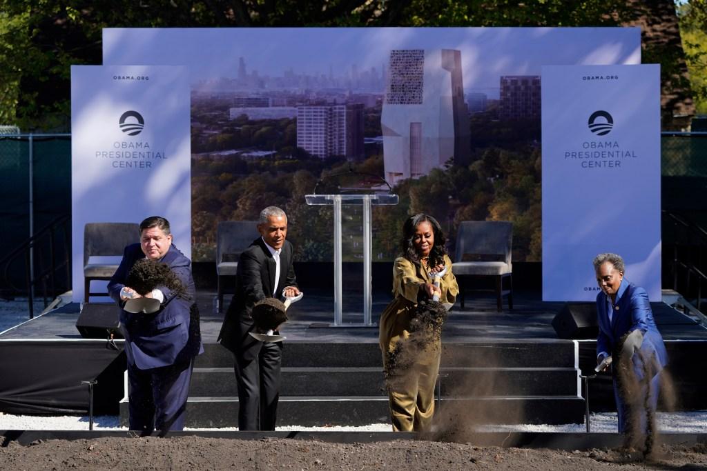 michelle obama obama presidential center