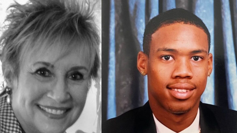 Connie Ellison and Julius Jones