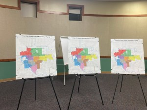 Tulsa Council redistricting map options