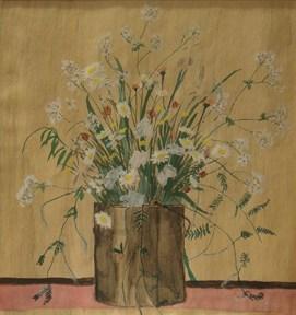 Elizabeth Bishop.Daisies in a Paint Bucket.