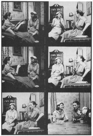Sylvia Plath interviewing Elizabeth Bowen for Mademoiselle magazine in 1953