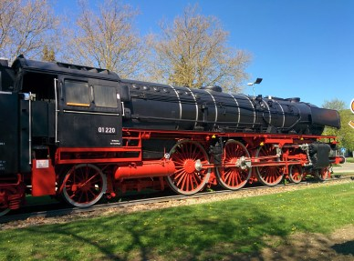 Steam train in Trechtlingen