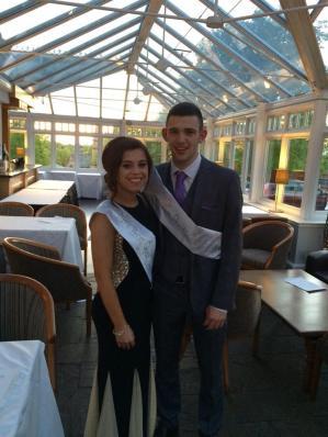2015 Calderside Prom King and Queen