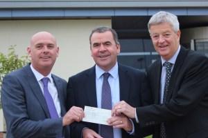 Morrison's cheque presentation