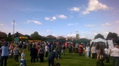 High Blantyre Gala Day 5th Sept Crowds have fun (PV)