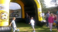 High Blantyre Gala Day 5th Sept Hit the goal (PV)