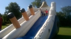 High Blantyre Gala Day 5th Sept Inflatable ship (PV)