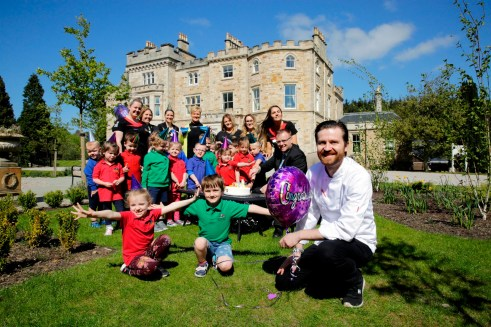 Crossbasket Castle marks first anniversary with birthday party