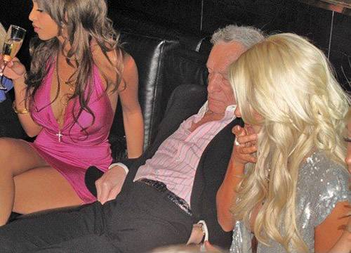 Hugh Hefner Almost Choked To Death On A Sex Toy