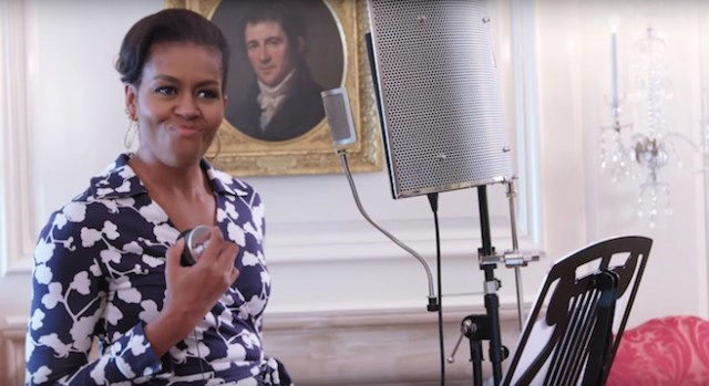 MIZZY O SULLA PISTA: Barre degli sputi di Michelle Obama