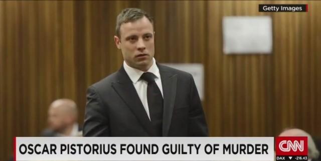 Oscar Pistorius colpevole di assassinio, verdetto precedente capovolto