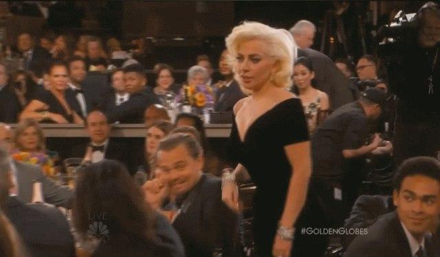 Leonardo DiCaprio di signora Gaga Almost Touched