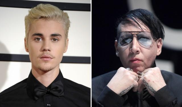 Che cosa significate Marilyn Manson e Justin Bieber è amici?