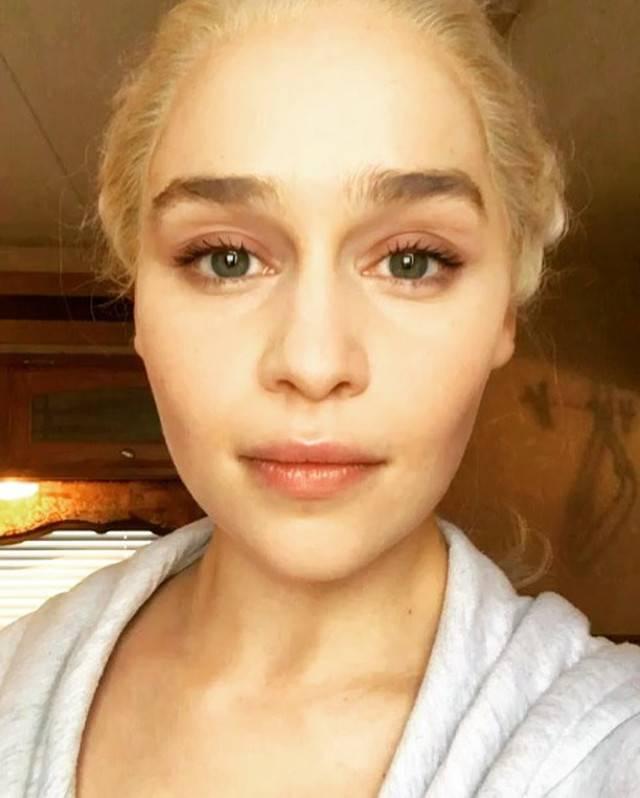 Emilia Clarke Lip Syncs I Believe I Can Fly The Blemish
