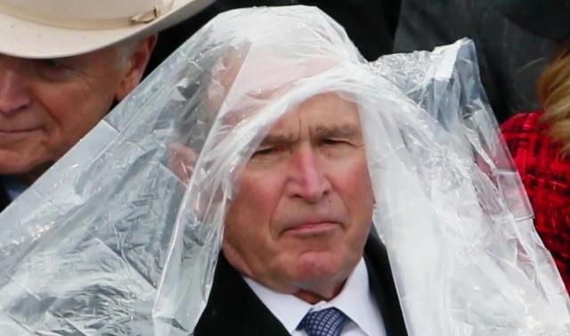 Voglia conoscere che George W. Bush realmente ha pensato allinaugurazione di Trump?