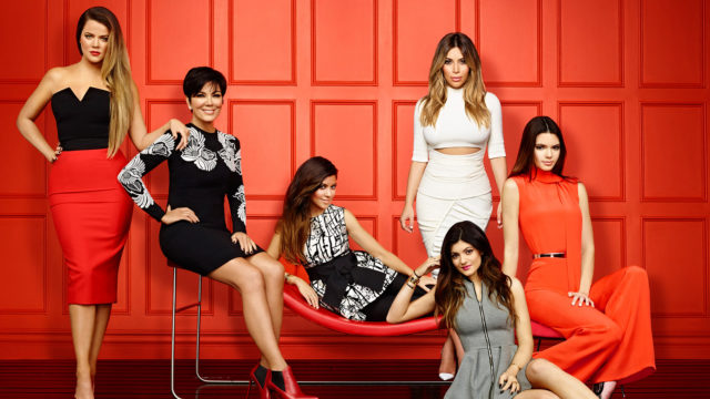` Che continua con il Kardashians vicino alla presa dietro la tettoia ed il colpo