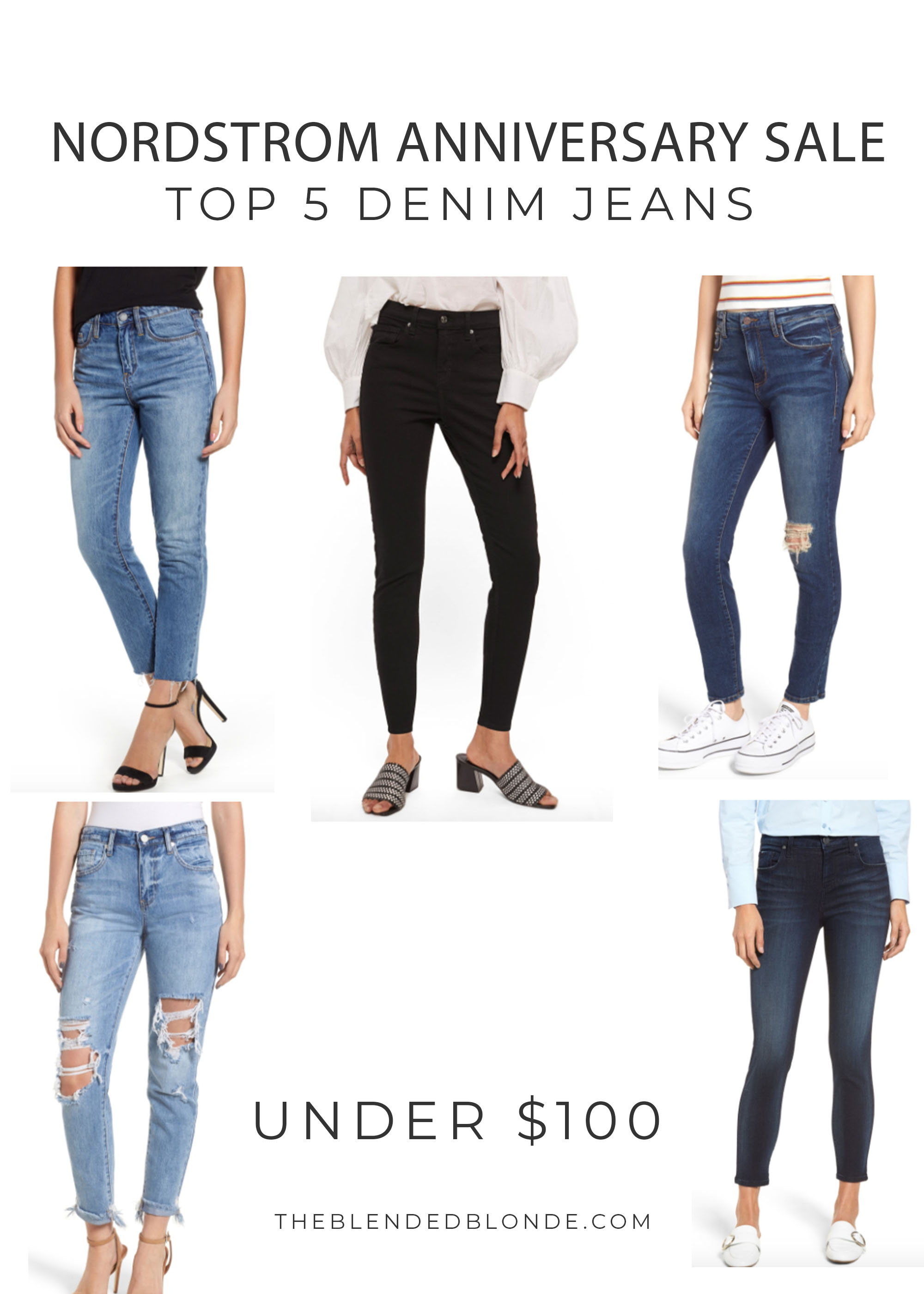 TOP DENIM PICKS FROM THE NORDSTROM ANNIVERSARY SALE 2018