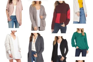 top sweater and cardi picks from the Nordstrom Annivsersary sale 2018