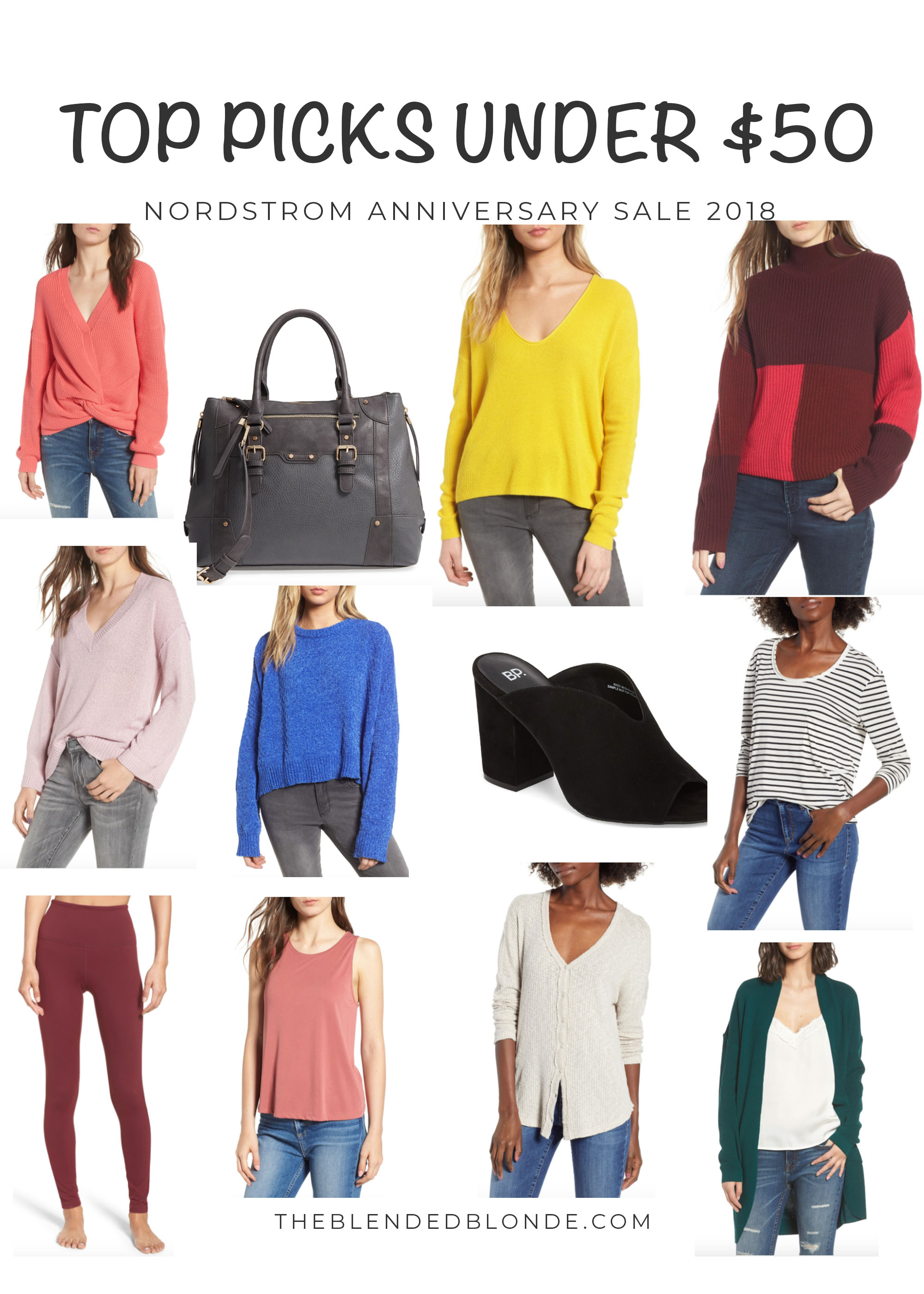 Top picks under $50 from the Nordstrom Anniversary Sale 2018