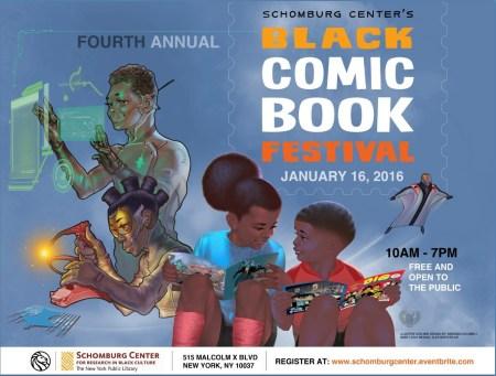 Black Comic Book Festival, theblerdgurl