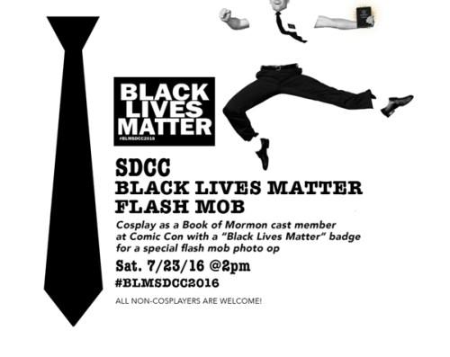 sdcc black lives matter, theblerdgurl