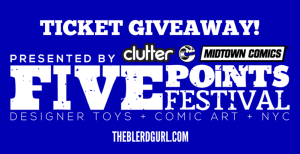 theblerdgurl, giveaway, five points fest