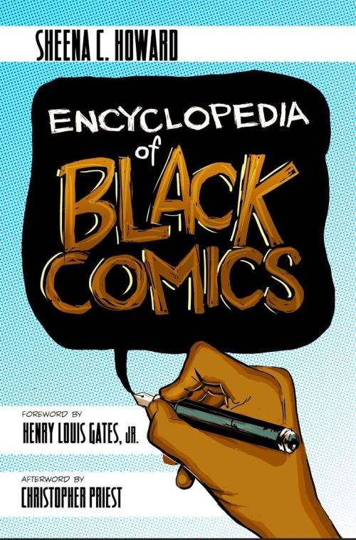 encyclopedia of black comics, sheena howard, theblerdgurl