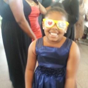 This little flower girl loves #TBB!