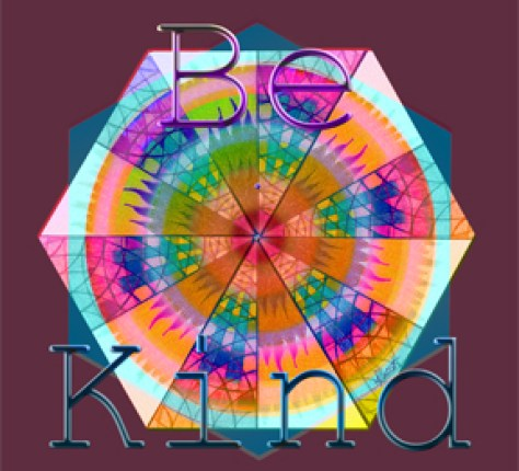 Be Kind by Blessing Chair Visions