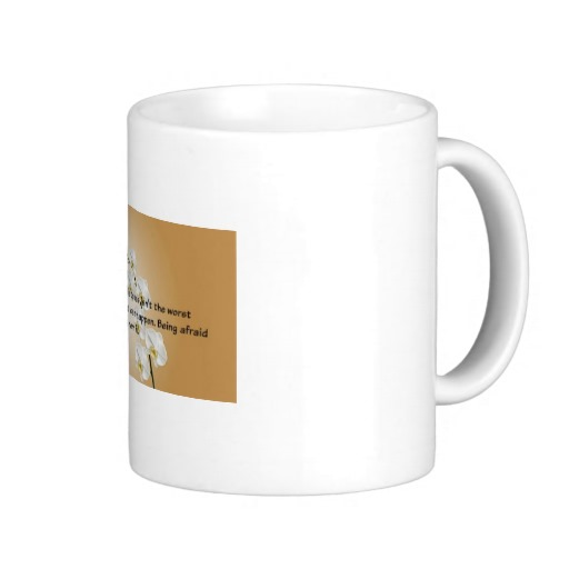 15 ounce white coffee mug saying about mistakes