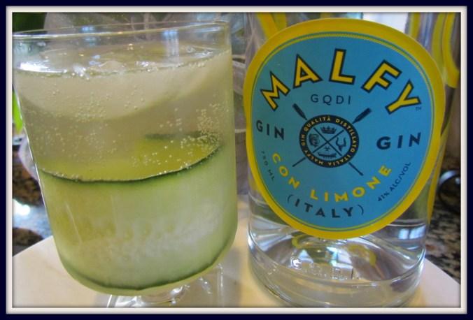 Cucumber Gin Spritz