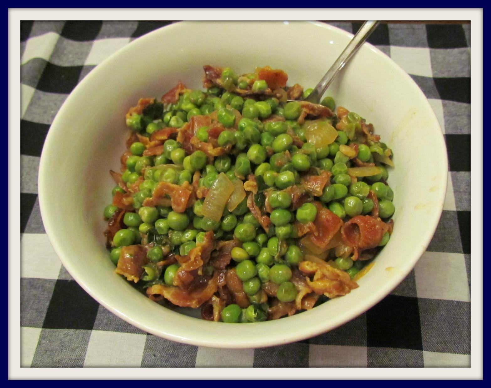 Prosecco Peas