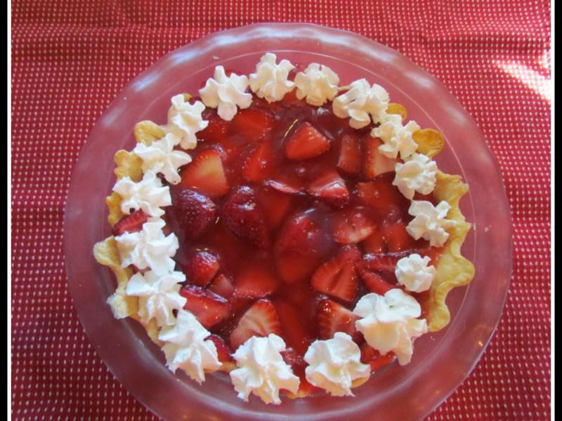 Strawberry Raspberry Pie