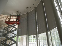 Commercial Blind and Window Covering Installation Littleton CO Denver CO