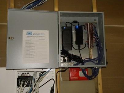 Custom motorization power panel