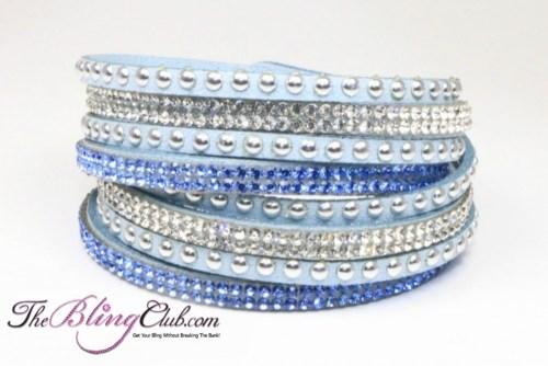 the-bling-club-sky-blue-vegan-leather-swarovski-crystals-studs-wrap-bracelet-adjustable-snap-close