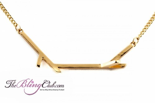 theblingclub.com gorgeous gold branch necklace