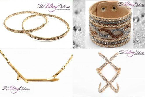 theblingclub.com GOLDEN GODDESS bling collection